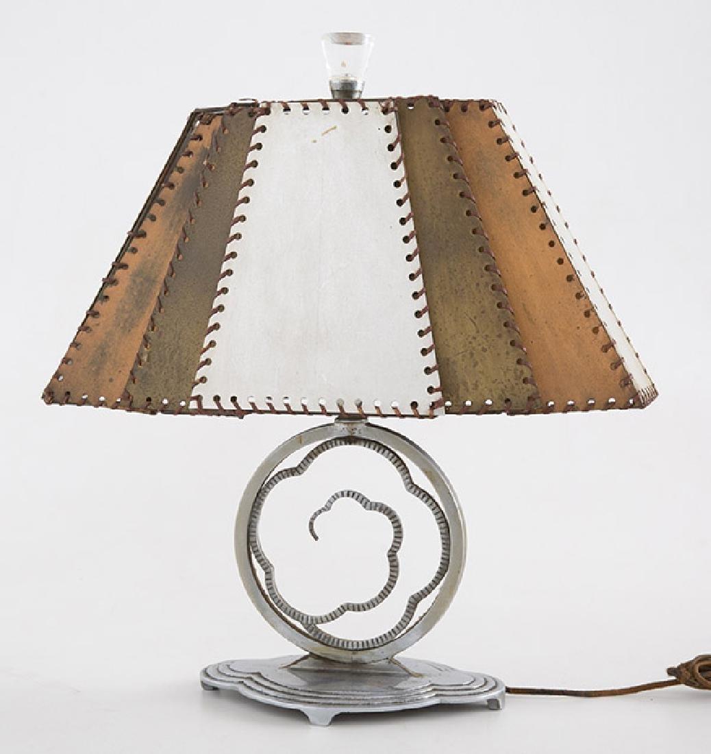 Art Deco Crucet Table Lamp