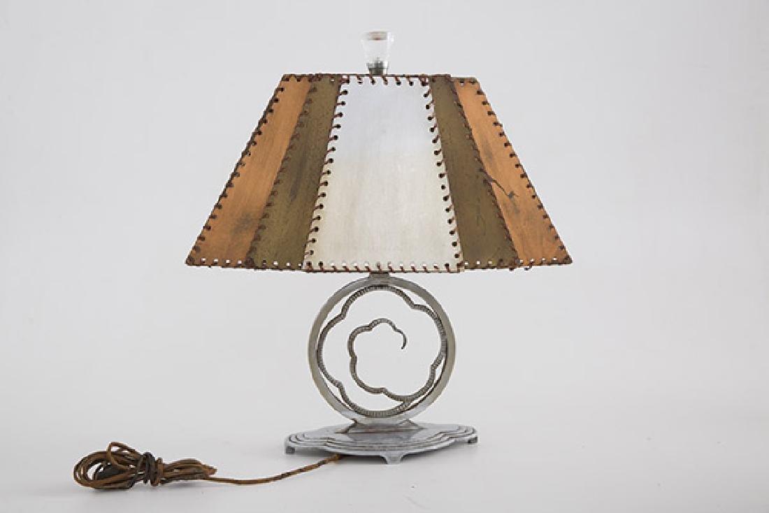 Art Deco Crucet Table Lamp - 2