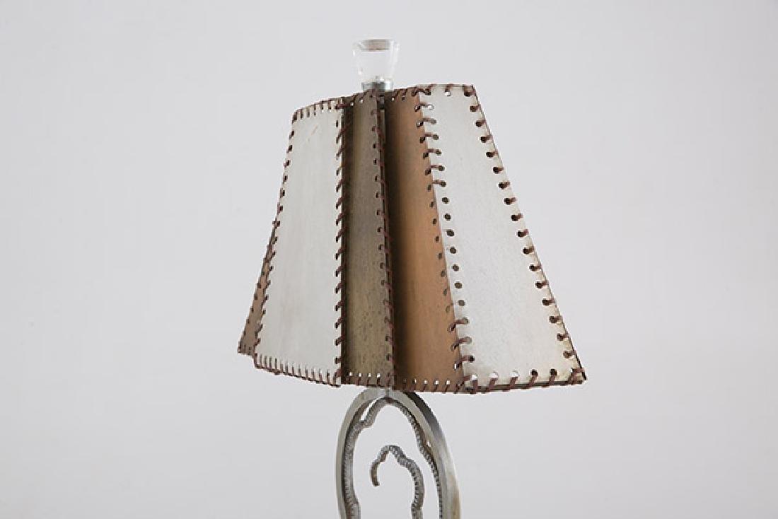 Art Deco Crucet Table Lamp - 5