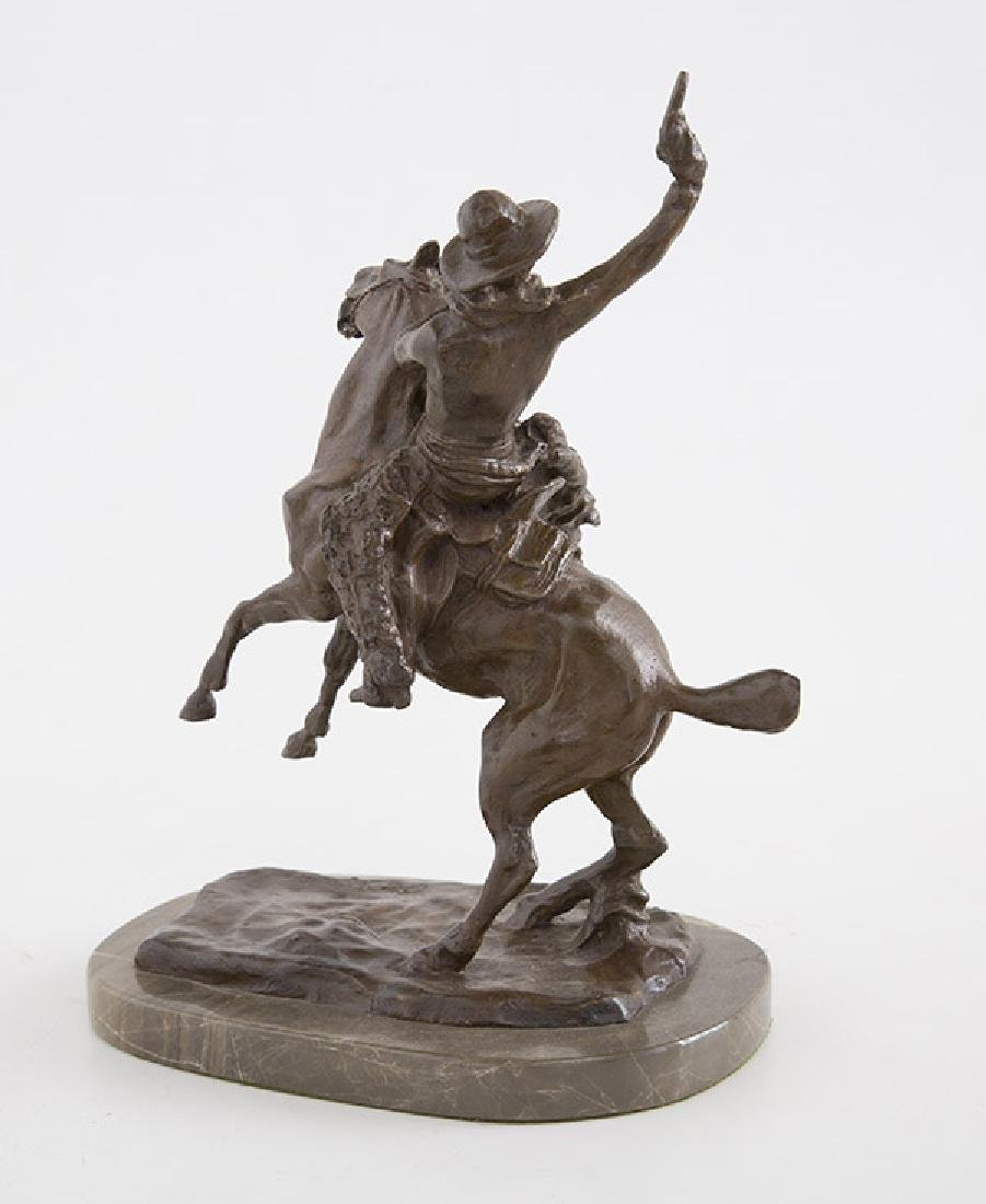 After Charles Russell Bronze - 2