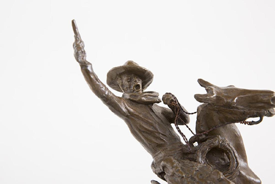 After Charles Russell Bronze - 7