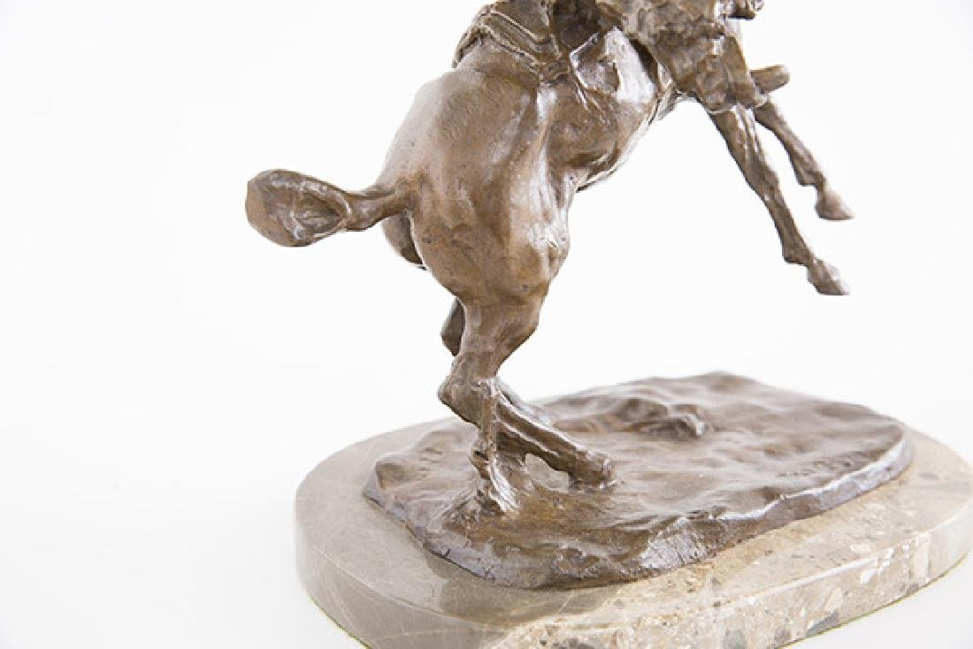 After Charles Russell Bronze - 8