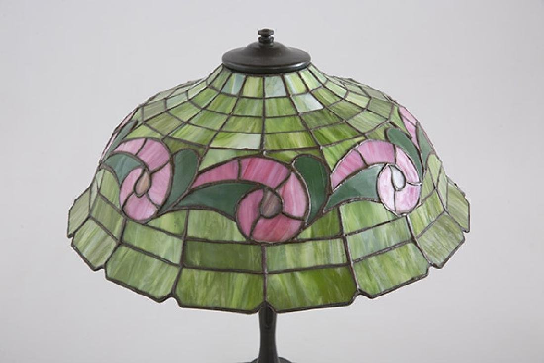 art glass lamp - 2
