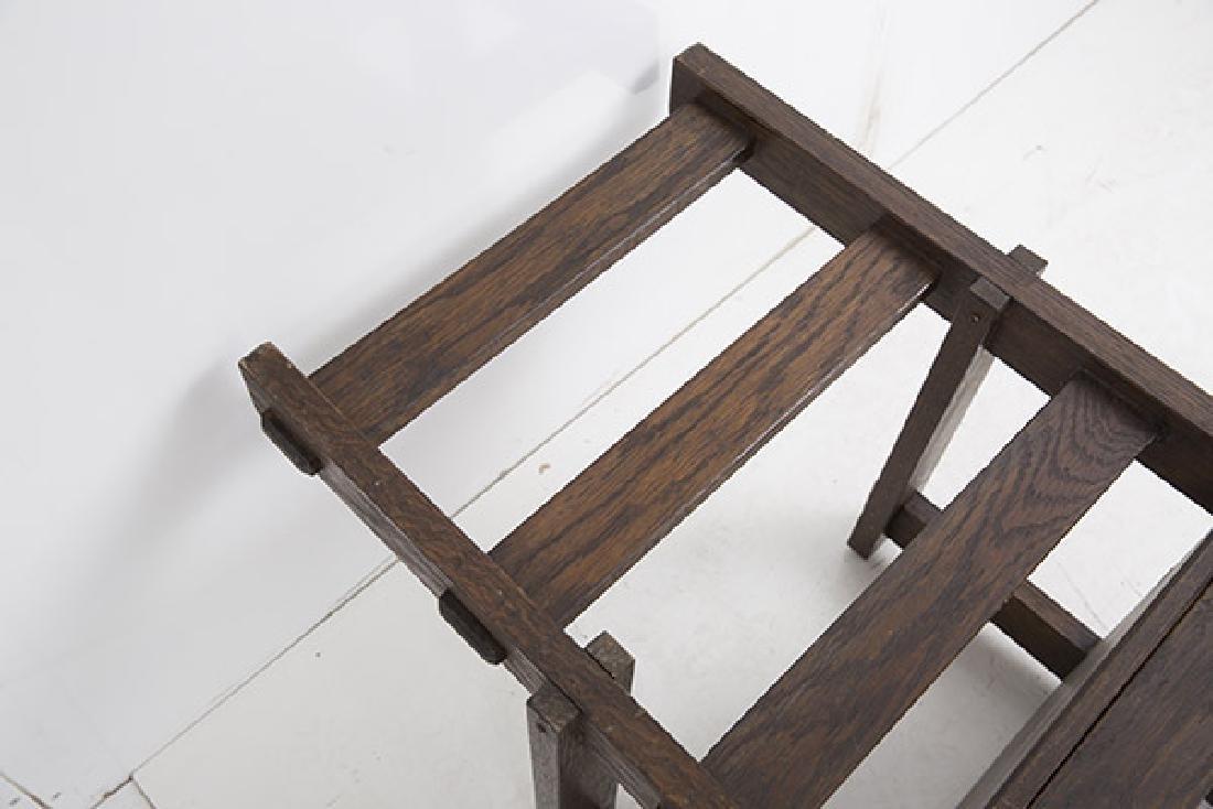 Unusual Arts & Crafts Arm Chair - 9