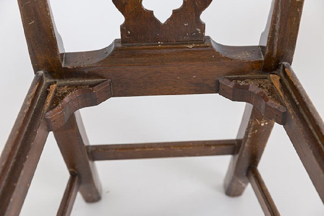 Miniature Chippendale Style Arm Chair - 7