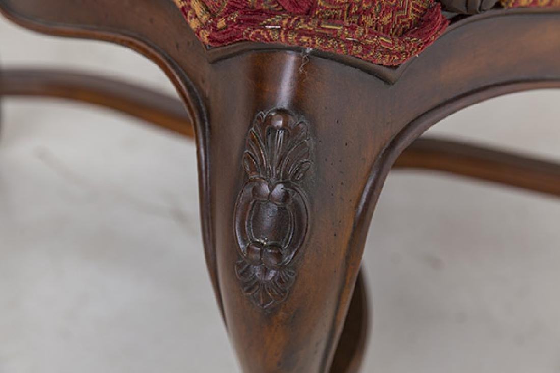 Country French High-Back Throne Chairs - 9