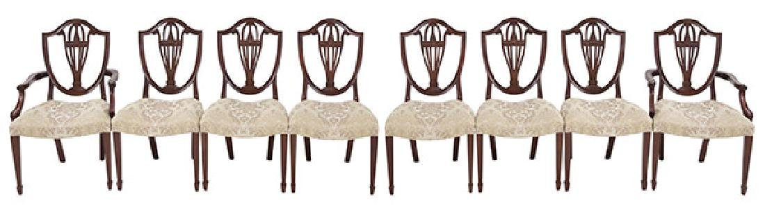 Bill Sofield Baker Dining Chairs