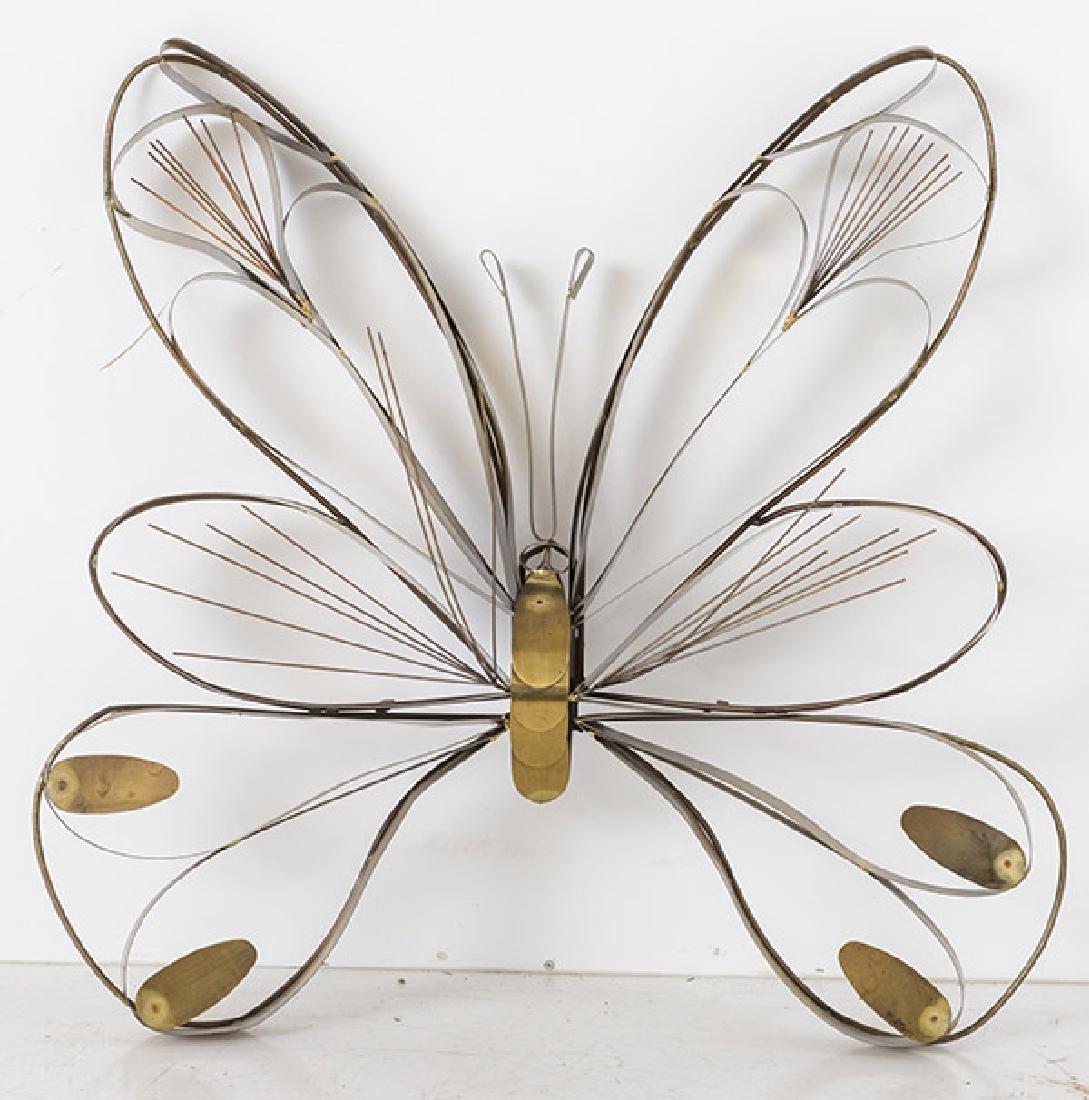 Curtis Jere Butterfly Wall Sculpture