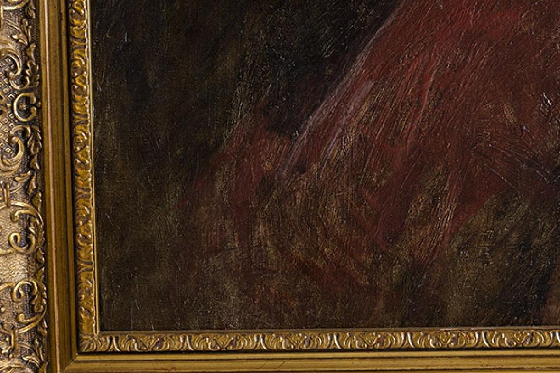 Frank Duveneck (1848-1919) Oil (Cincinnati,KY) - 4