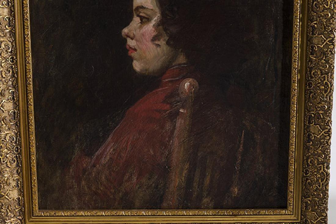 Frank Duveneck (1848-1919) Oil (Cincinnati,KY) - 6