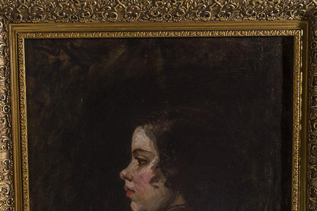 Frank Duveneck (1848-1919) Oil (Cincinnati,KY) - 7