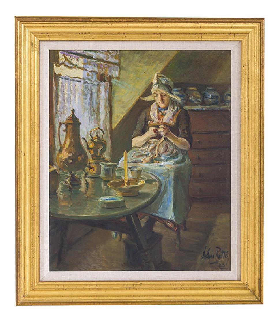John Rettig (1855-1932) Oil (Cincinnati)