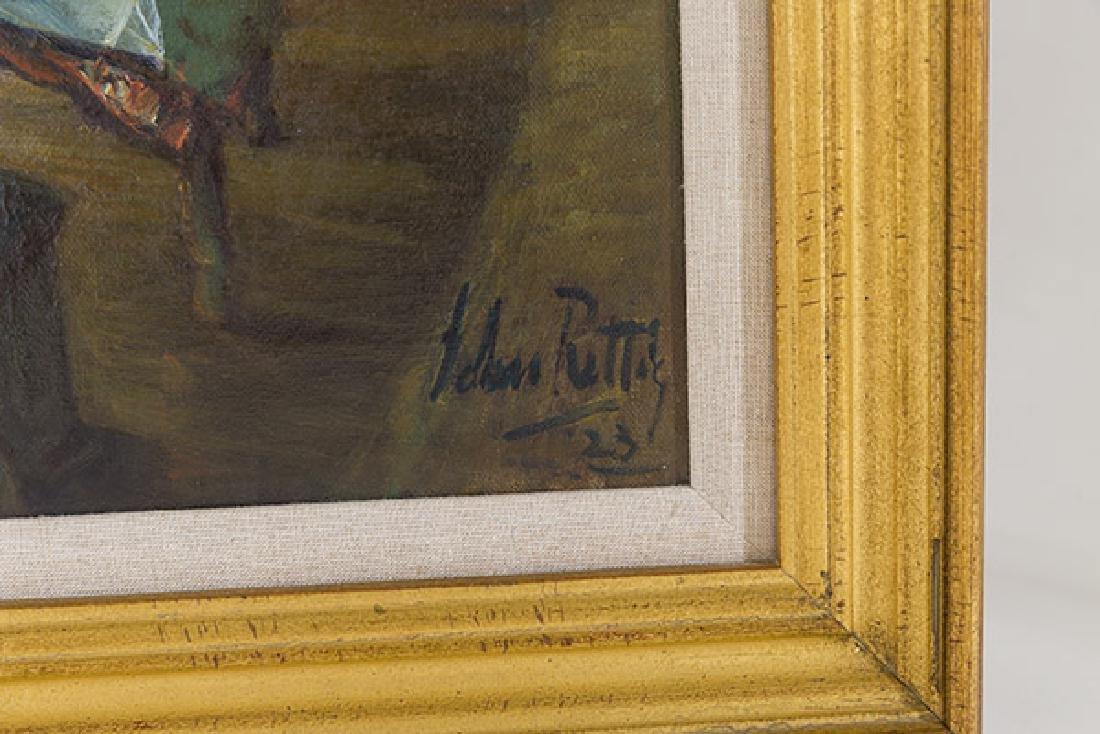 John Rettig (1855-1932) Oil (Cincinnati) - 2