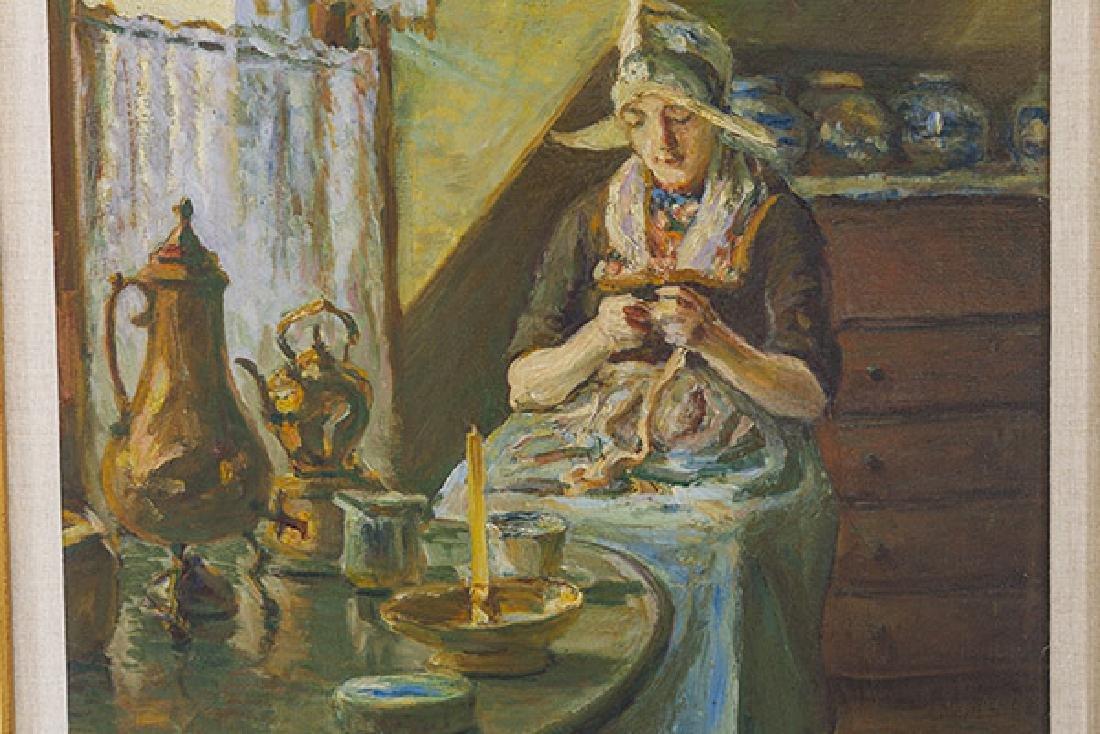 John Rettig (1855-1932) Oil (Cincinnati) - 3