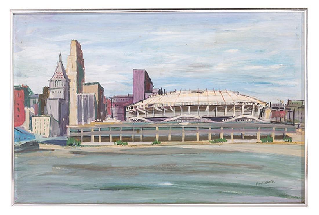 Ann Marie Kromer (20th Century) Oil (Cincinnati)