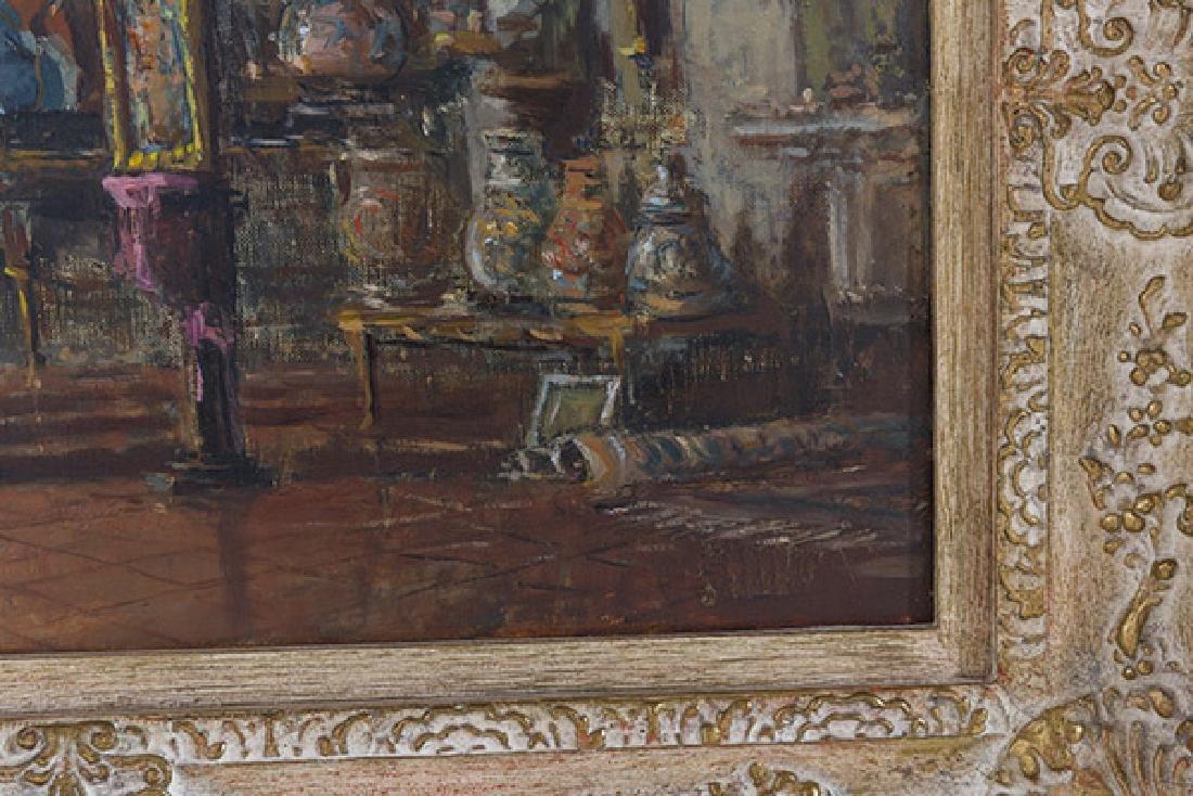 Sergio Cirno Bessi (1902-1987) Oil (Italy) - 3