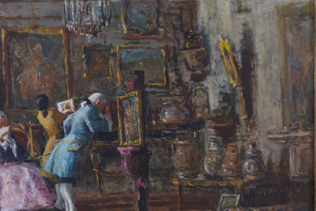 Sergio Cirno Bessi (1902-1987) Oil (Italy) - 4