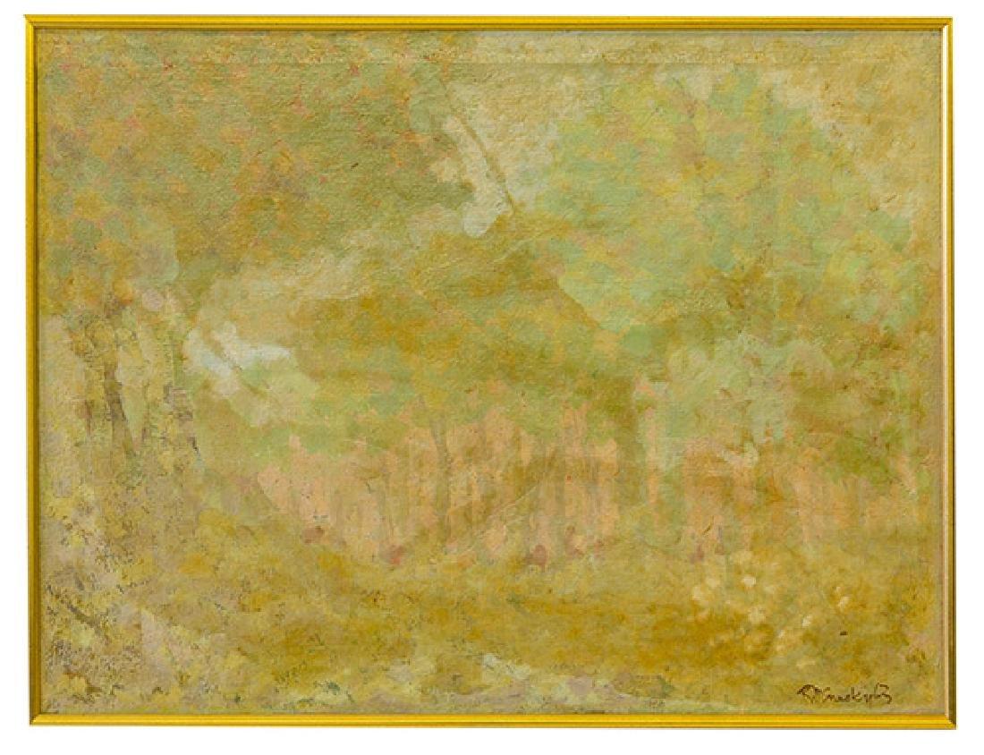 Robert McNesky (20th Century) Oil (Cincinnati)