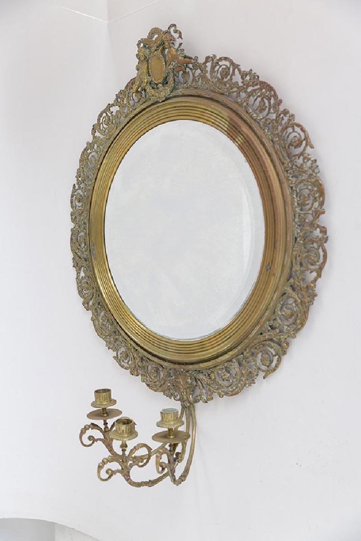 Ornate Framed Mirror - 8