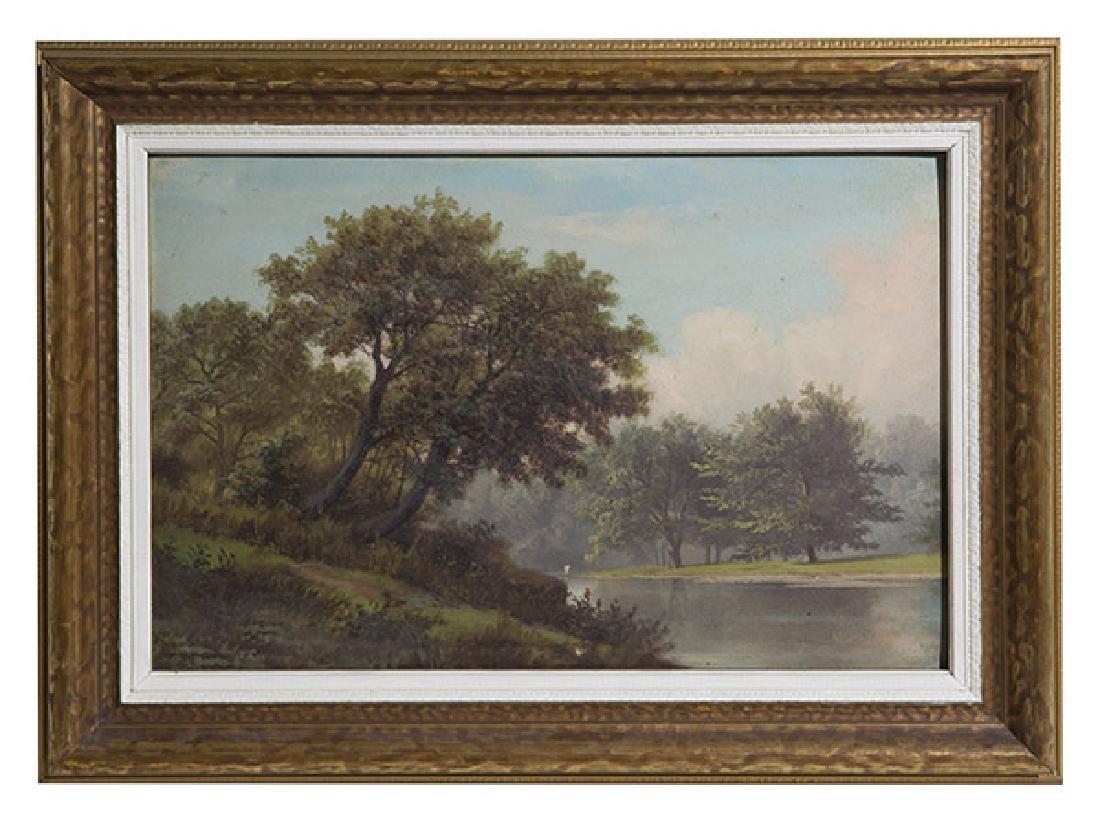 Rudolf Tschudi (1855-1923) Oil (Cincinnati)