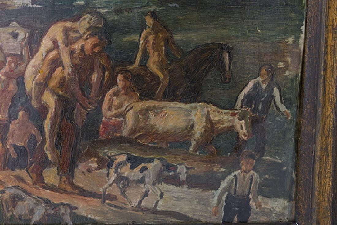 Bernhard Muller (b 1880) Oil (Germany) - 4