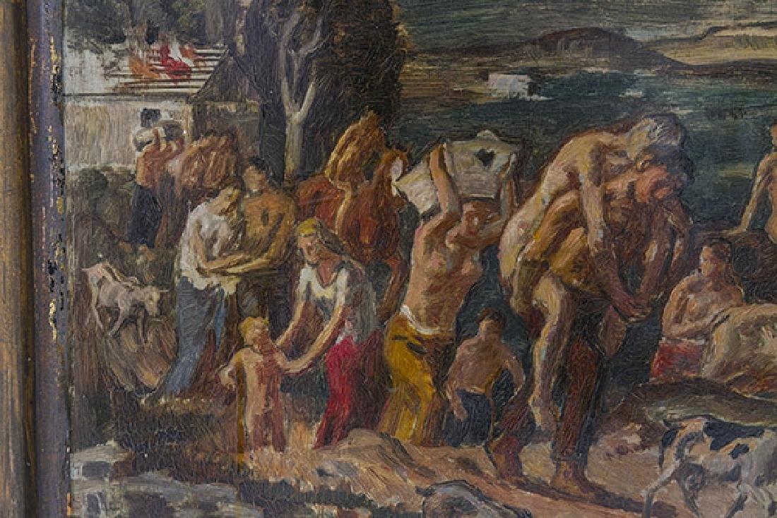 Bernhard Muller (b 1880) Oil (Germany) - 5