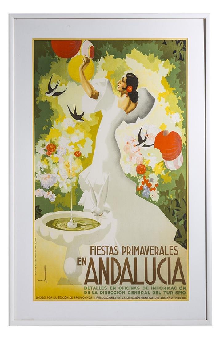 Jose Morell-Fiestas Primavererales En Andalucia