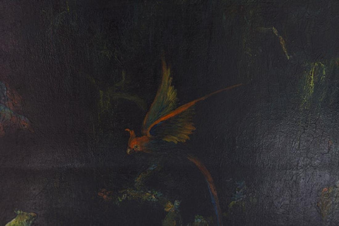 1940's Parrot Painting - 5