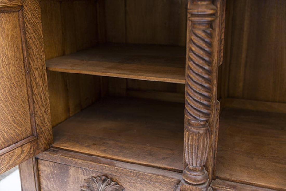 RJ Horner Carved Oak Sideboard - 10