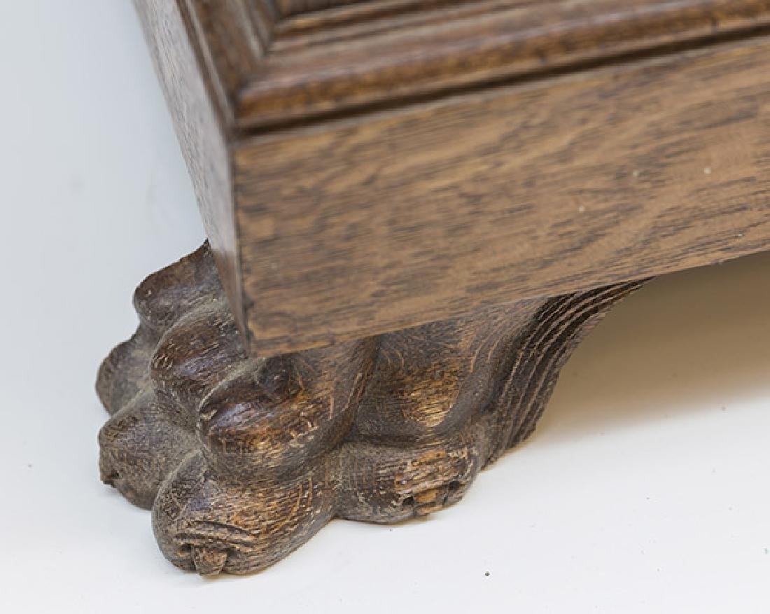 RJ Horner Carved Oak Sideboard - 5