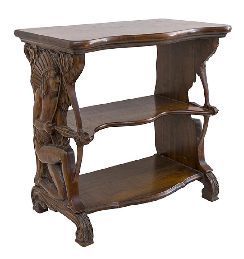 Rare Carved Indian Table