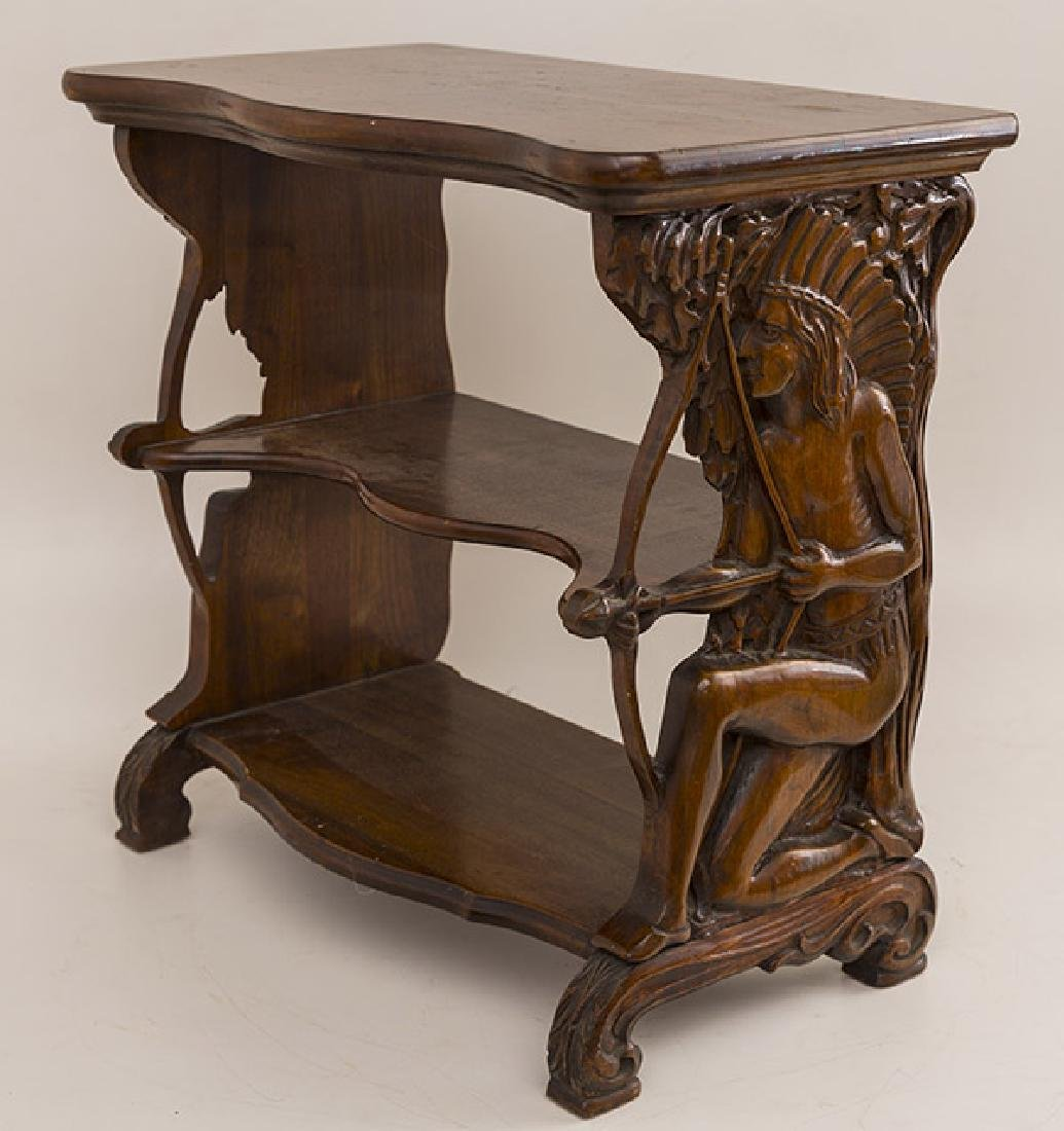 Rare Carved Indian Table - 2