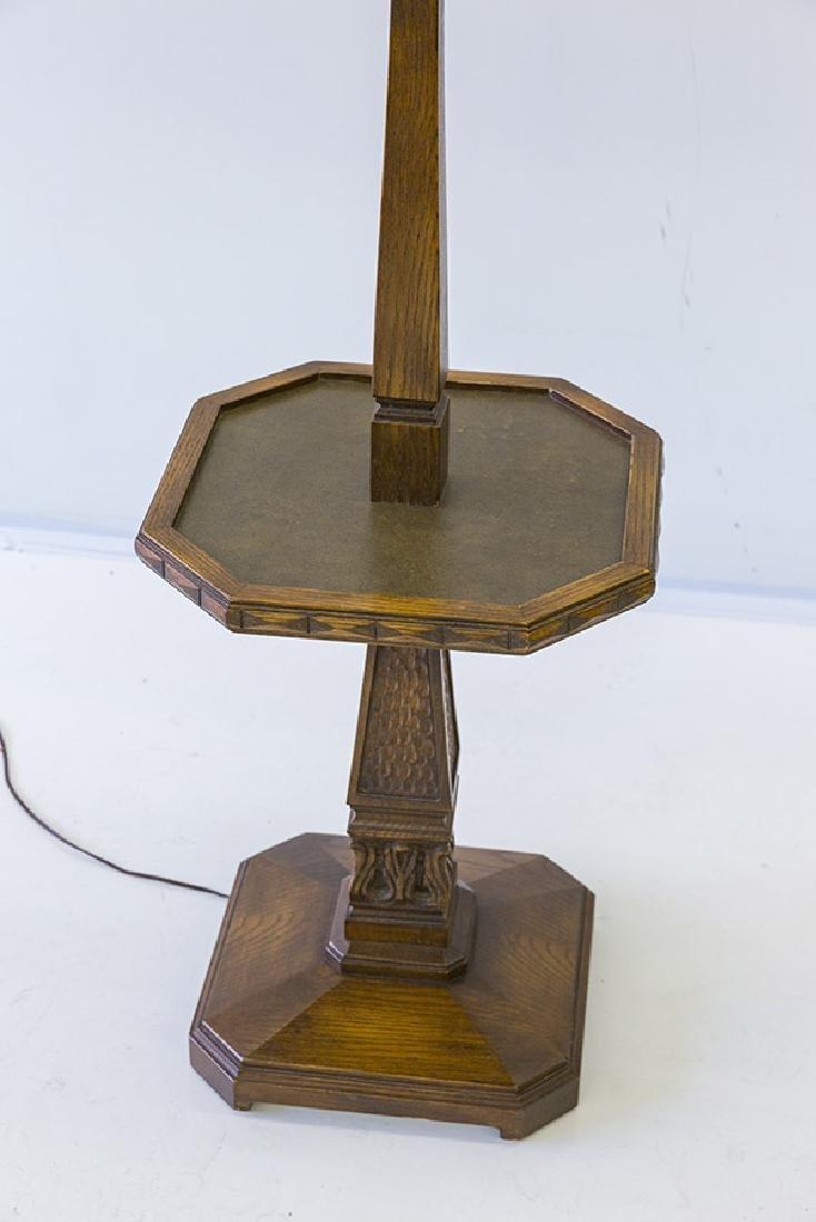 Romweber Viking Oak Floor Lamp - 2