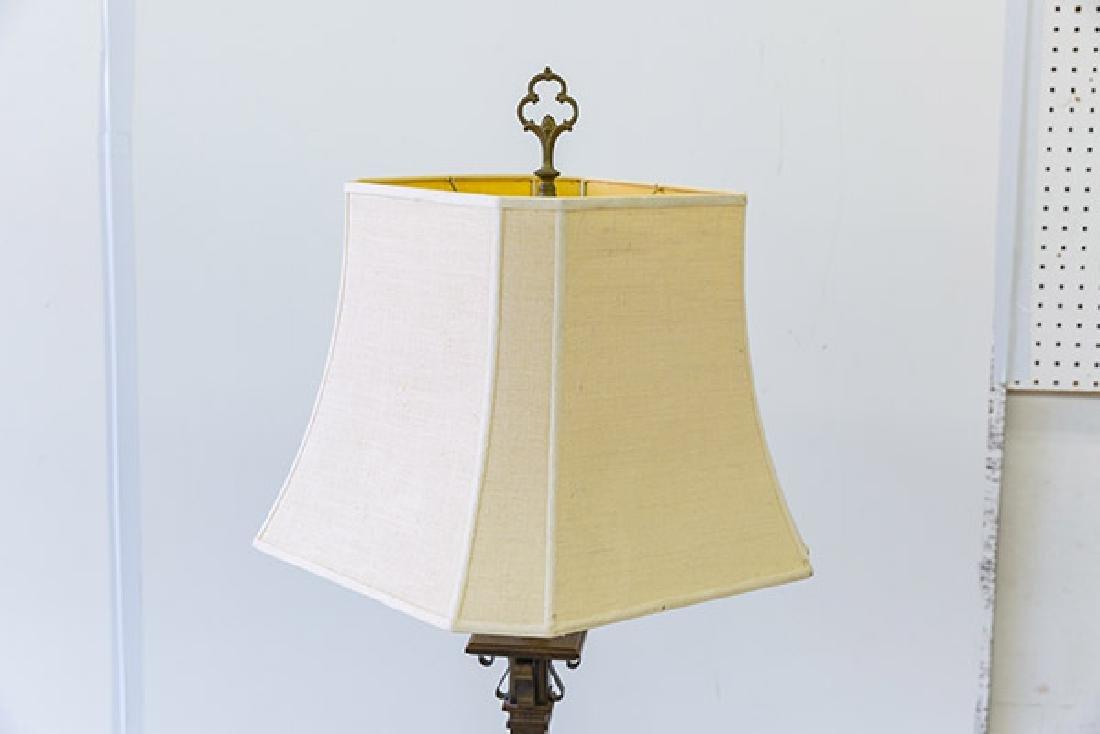 Romweber Viking Oak Floor Lamp - 3