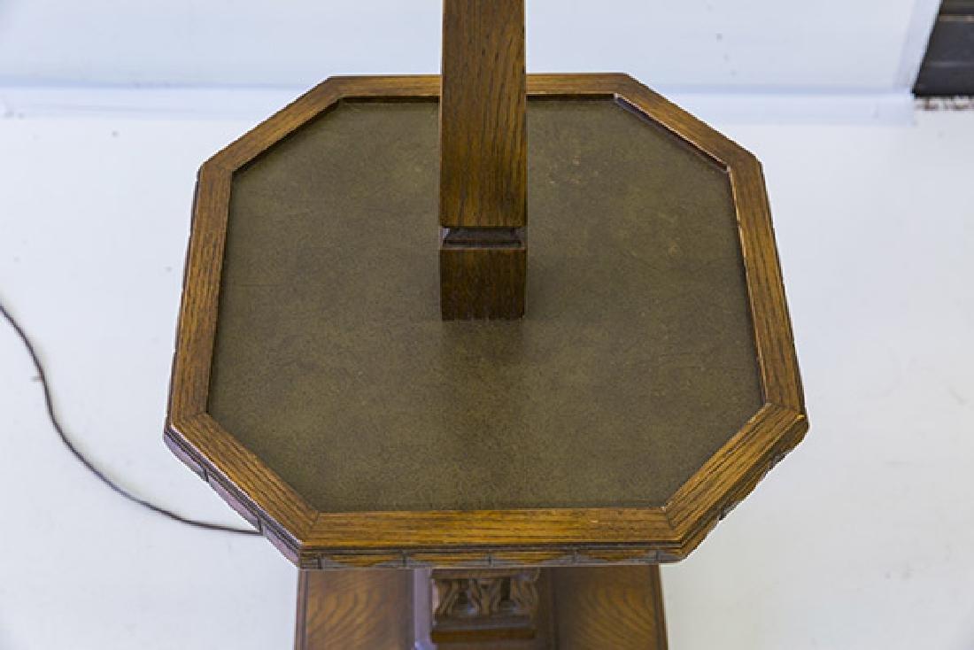 Romweber Viking Oak Floor Lamp - 4