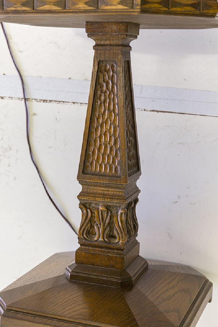 Romweber Viking Oak Floor Lamp - 7