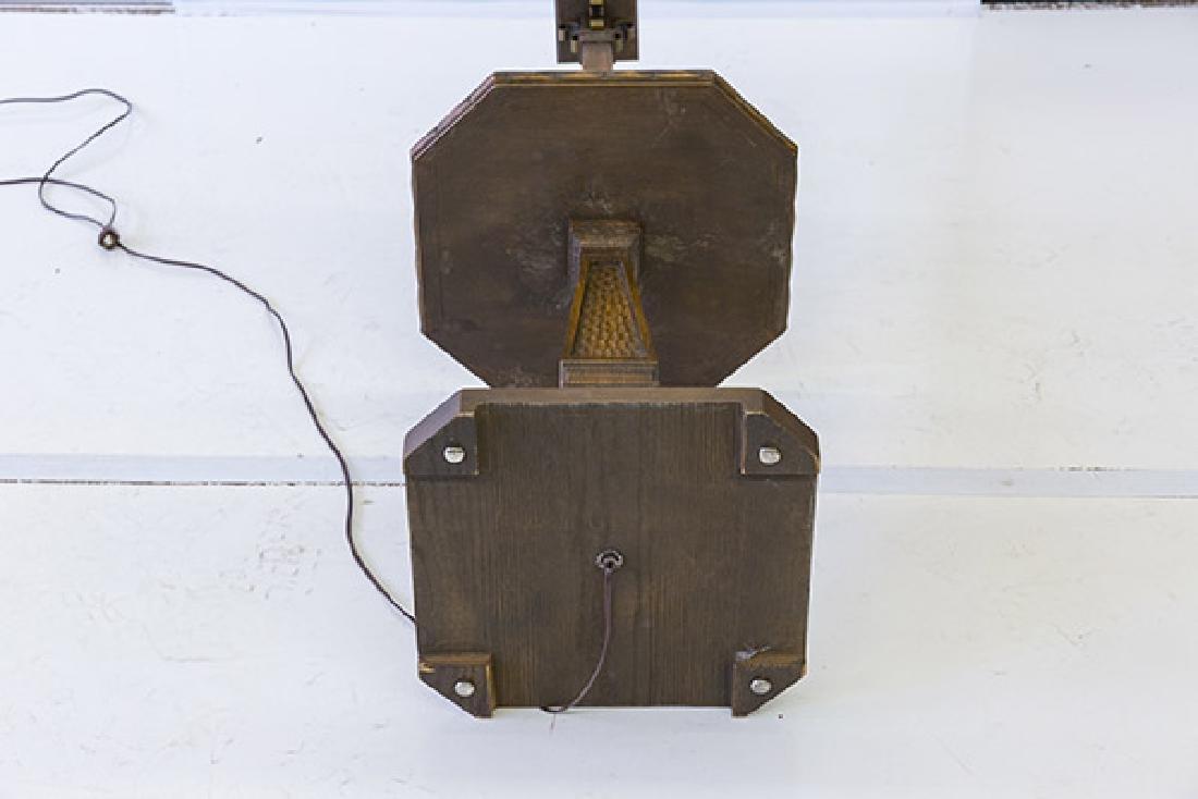 Romweber Viking Oak Floor Lamp - 8