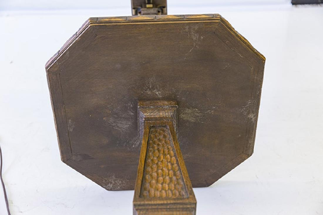 Romweber Viking Oak Floor Lamp - 9