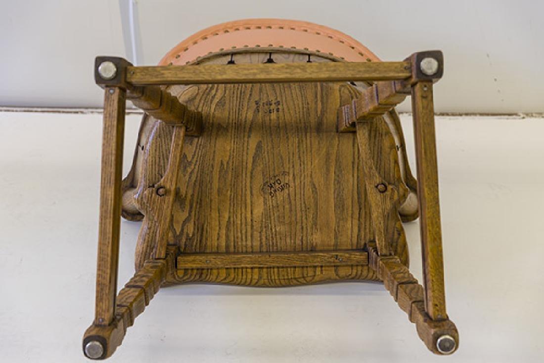 Romweber Viking Oak Captain's Chairs - 10