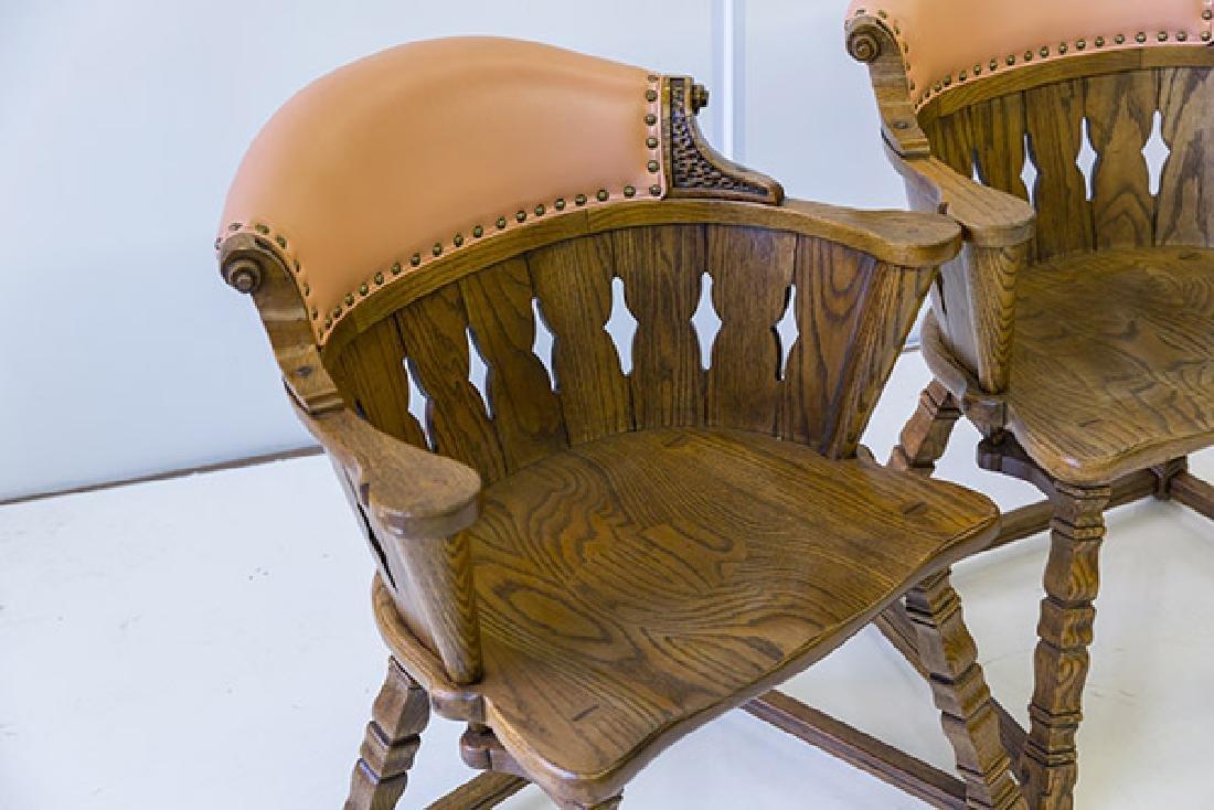 Romweber Viking Oak Captain's Chairs - 2