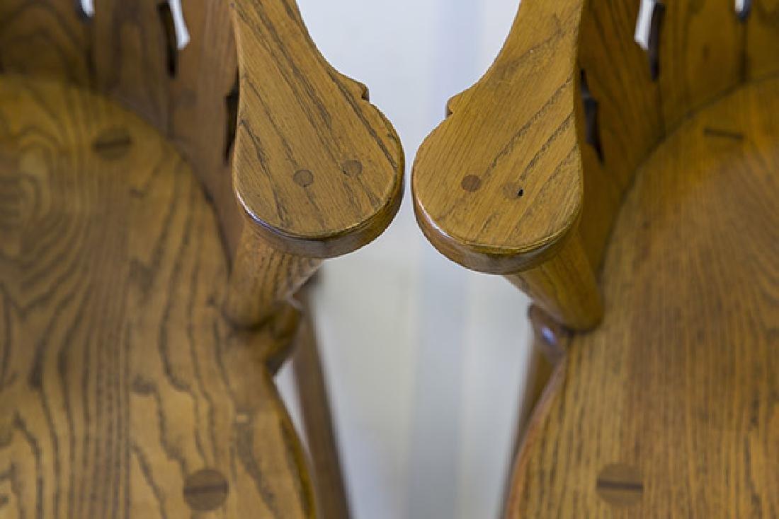 Romweber Viking Oak Captain's Chairs - 3