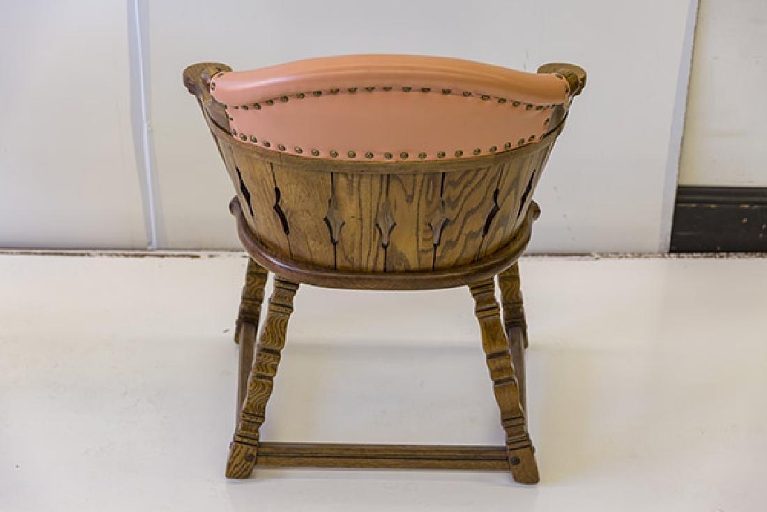 Romweber Viking Oak Captain's Chairs - 9