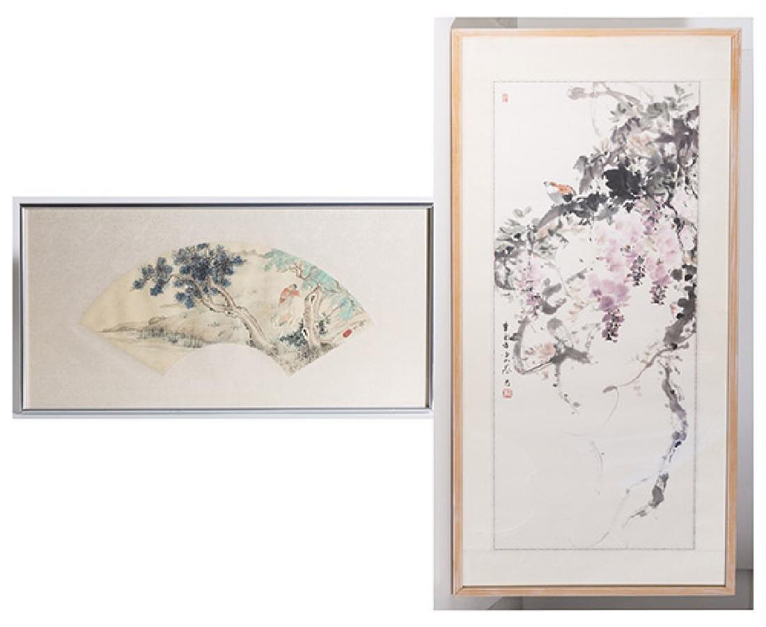 Two Oriental Watercolors