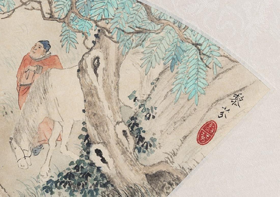 Two Oriental Watercolors - 2