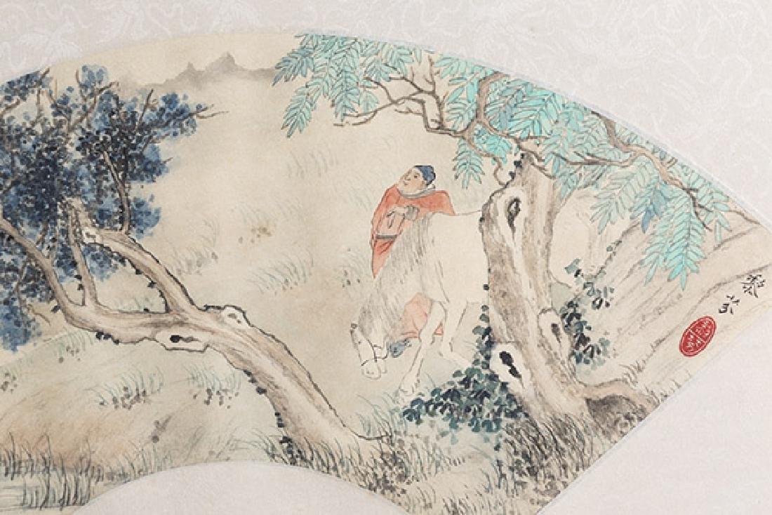 Two Oriental Watercolors - 3