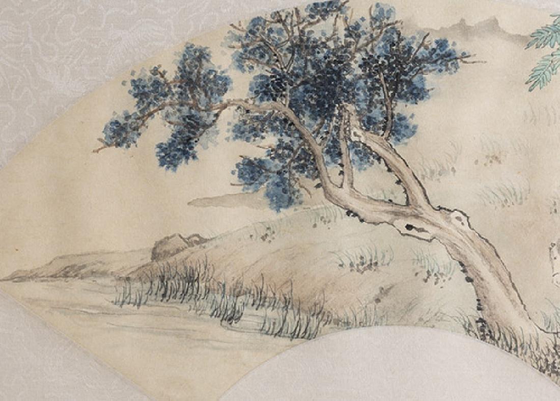 Two Oriental Watercolors - 4