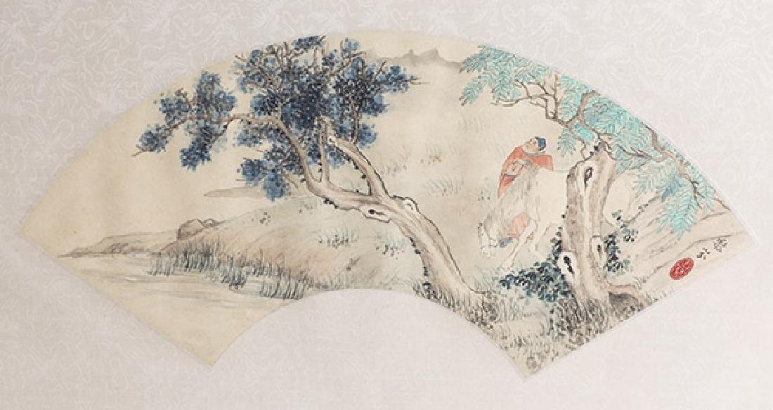 Two Oriental Watercolors - 5
