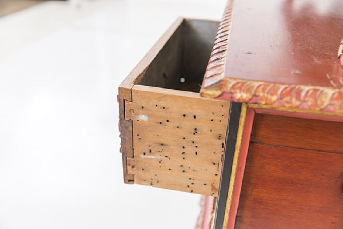 Lemari Palembang Carved Wood Cabinet - 10