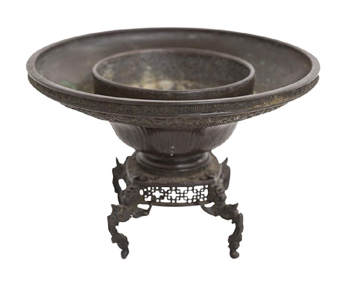 19th Century Meiji Bronze Incense Burner