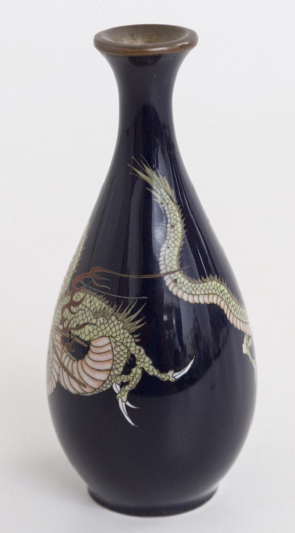 19th Century Japanese Cloisonne Vase - 3